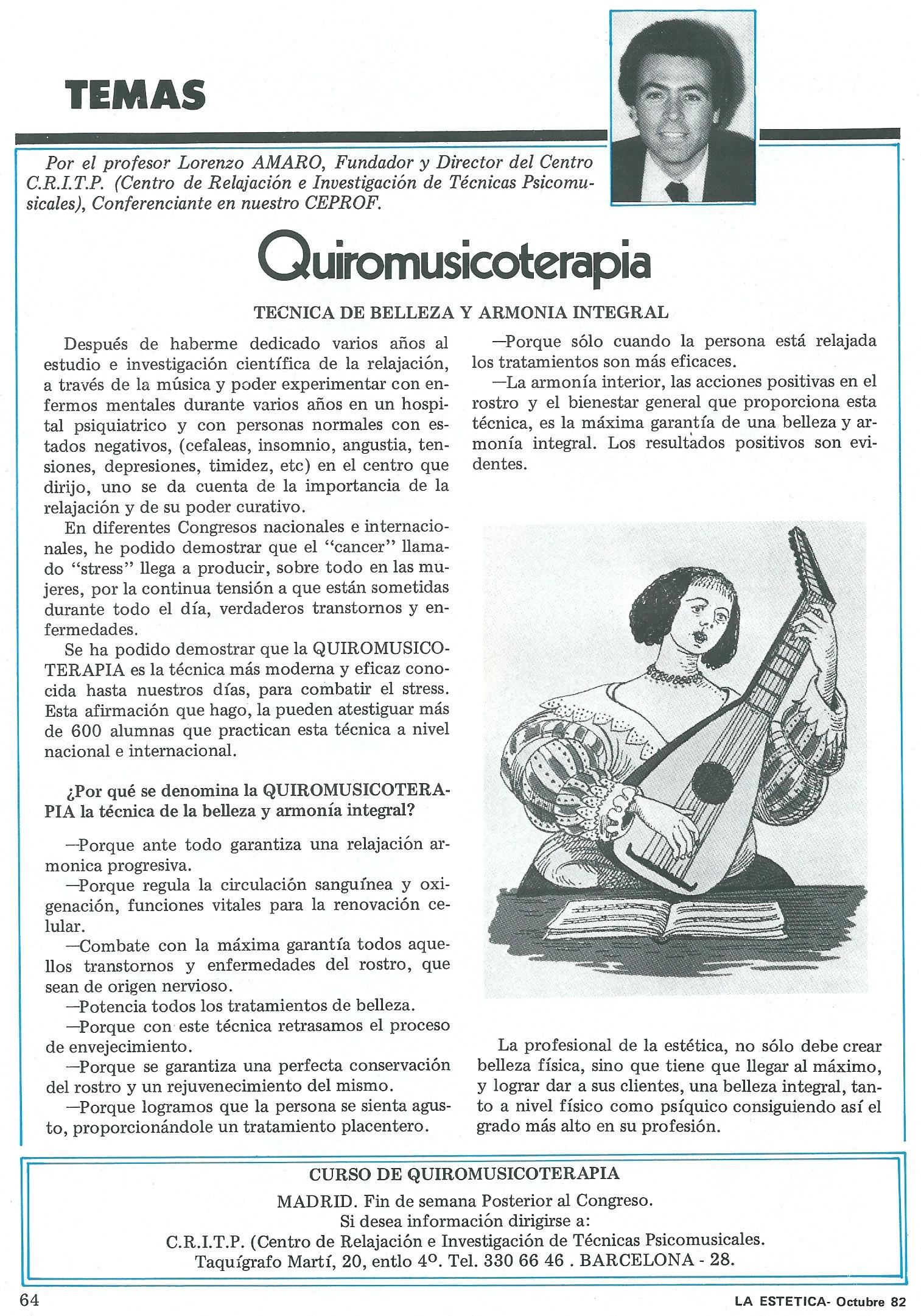 Quiromusicoterapia